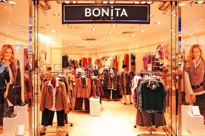 BONITA in den Gropius Passagen