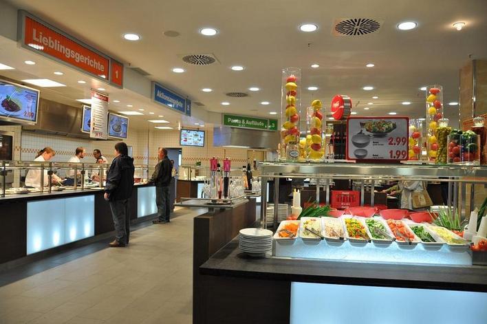 kaufland restaurant kaufpark eiche internationale k che in berlin kauperts. Black Bedroom Furniture Sets. Home Design Ideas